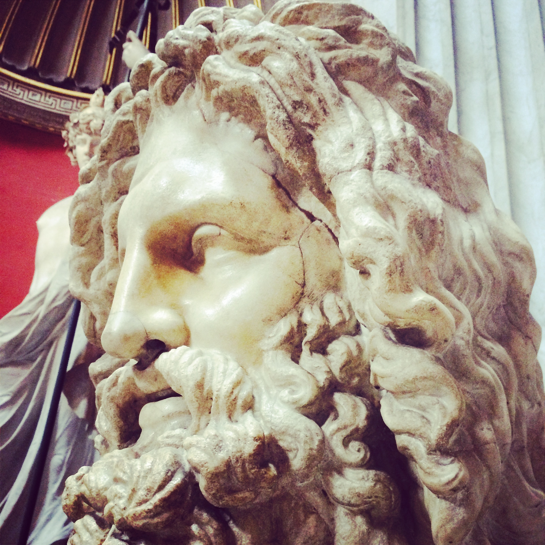 Sculpture in the Vatican Rome