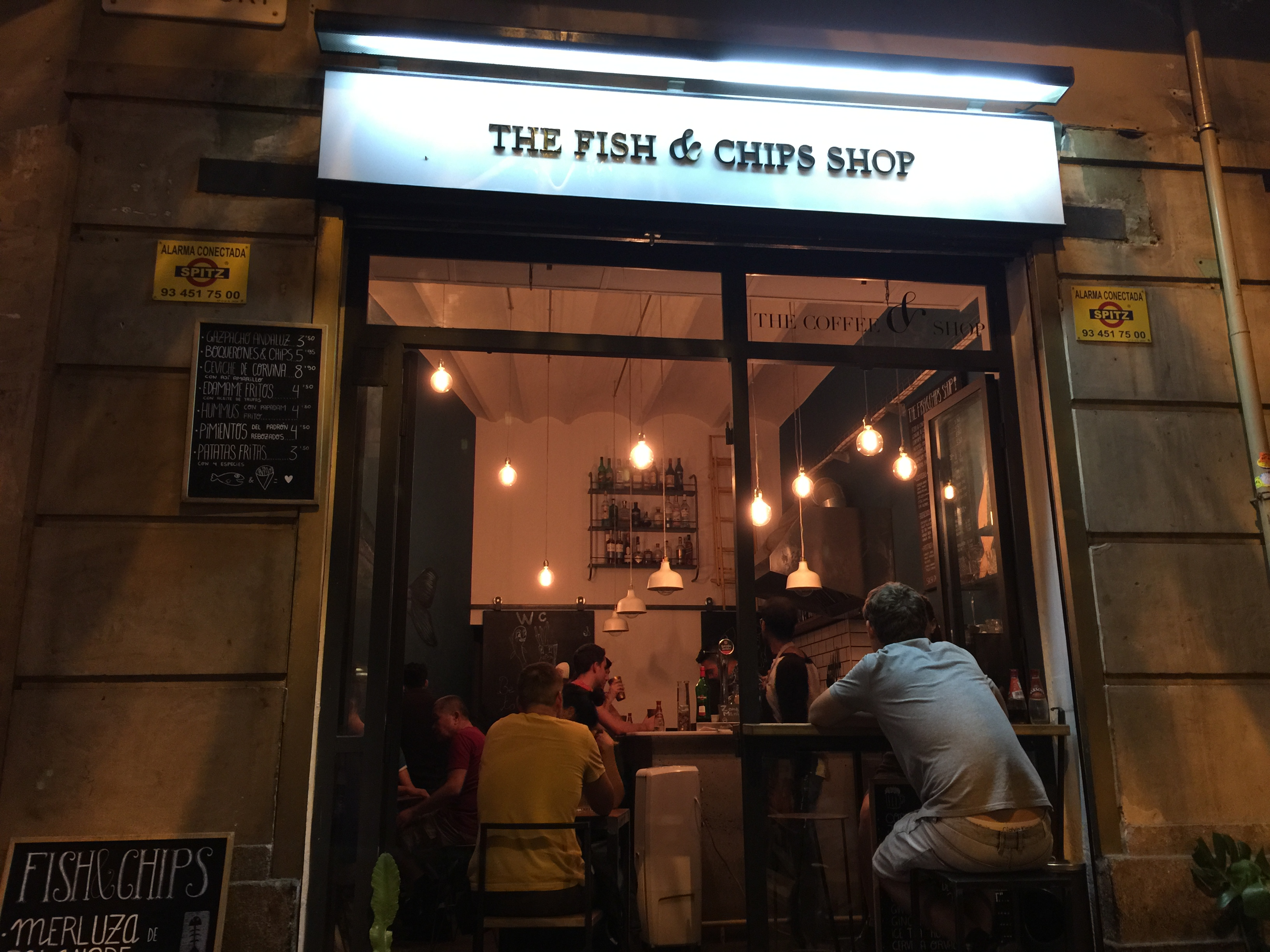 The Fish and Chips Shop Barcelona