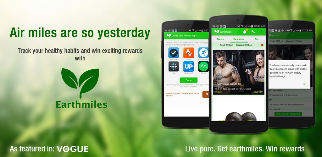 earthmiles app