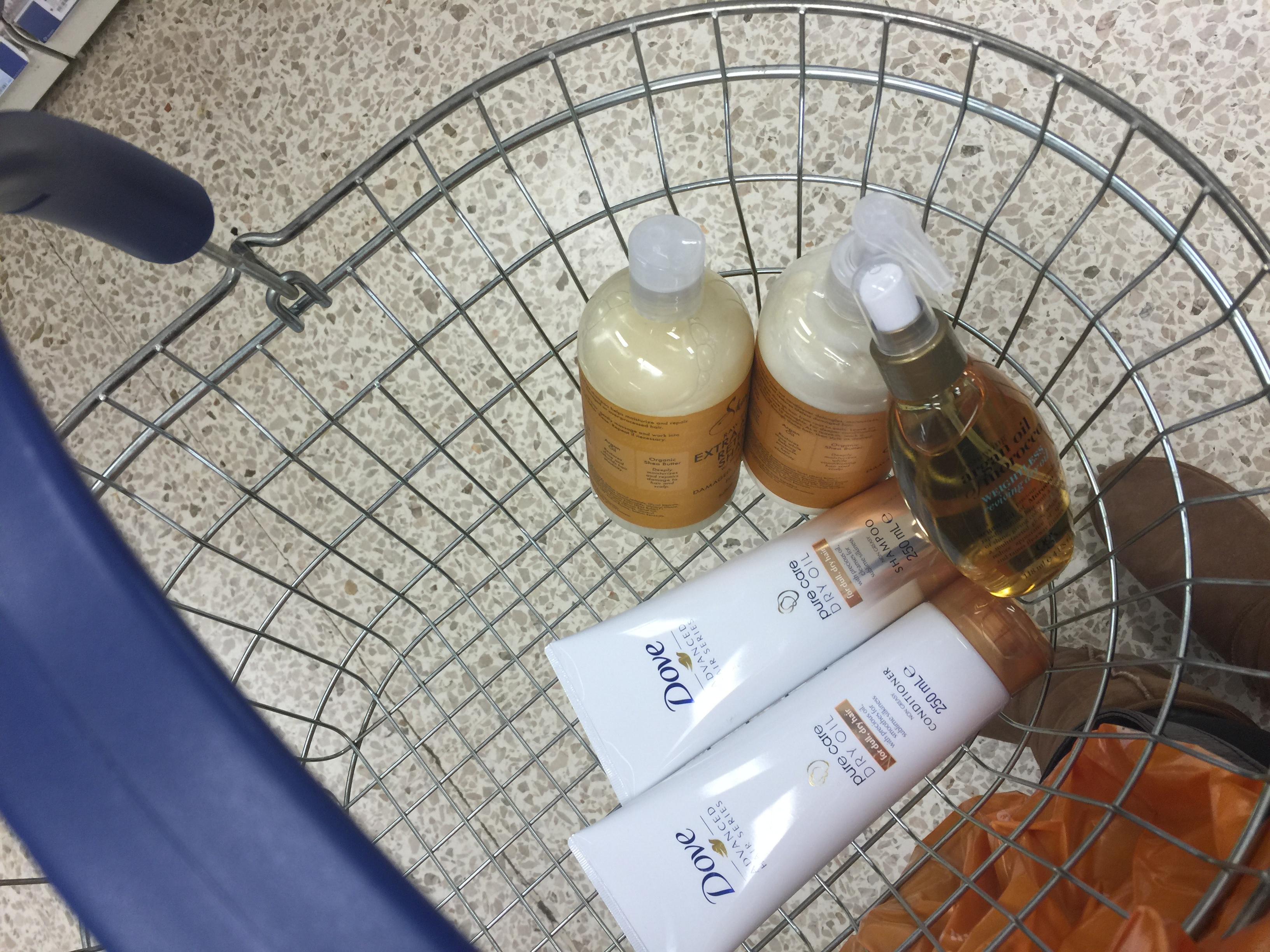 dove shampoo conditioner