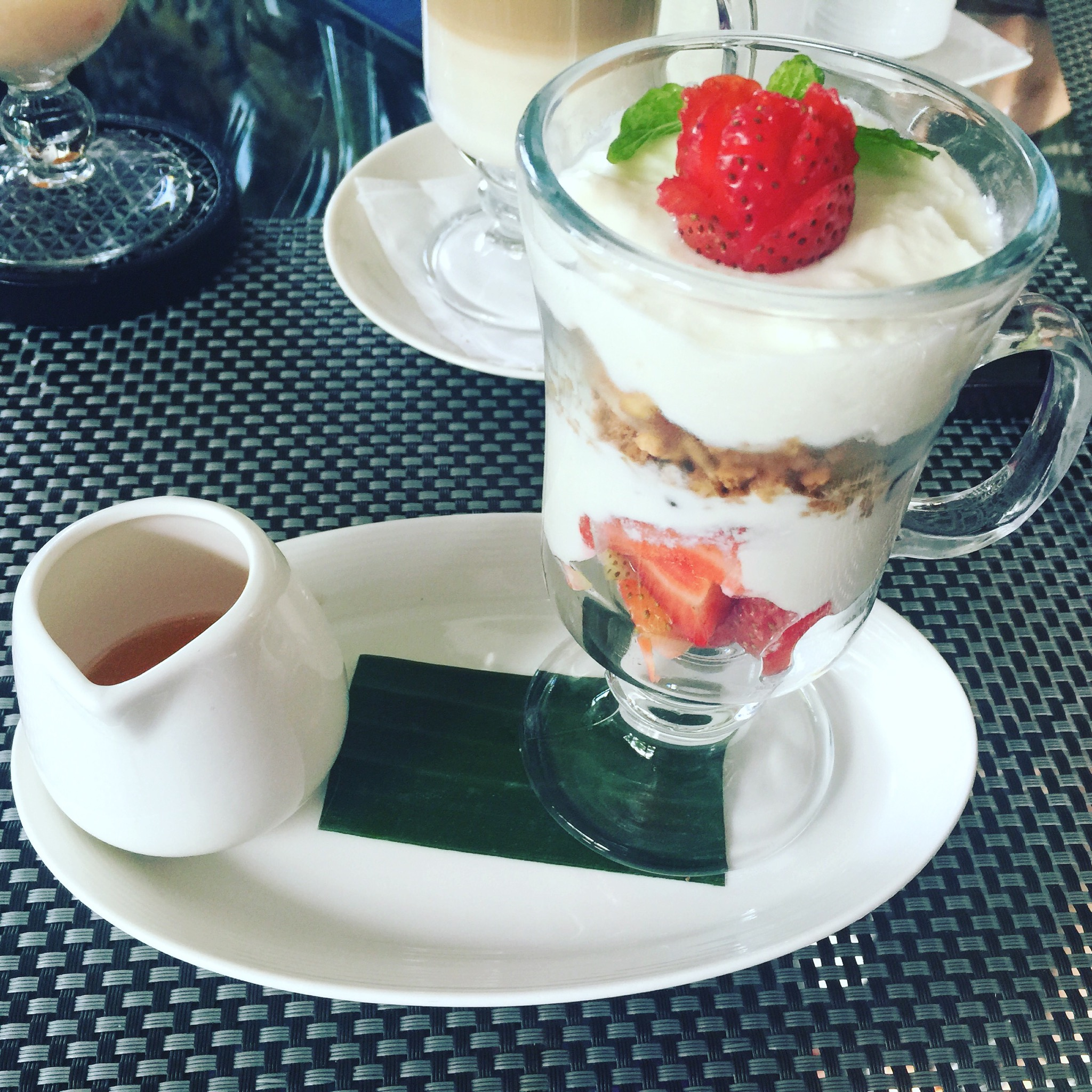 Strawberry Parfait Breakfast
